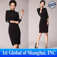 Free Shipping  new 2013 Spring autumn hot selling fashion vintage one piece dress , women sexy club dresses with belt