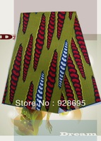 Hot sale Fashion REAL WAX PRINT african clothing real wax cloth fabric