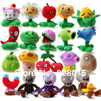 Hot Plants vs Zombies plush toys Interesting game dolls 20pcs/set 13-20cm height, Fun toys for children