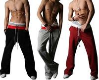 2013 Men's Casual Stylish Rope long Sporting sweat Baggy Pants sports sportswear Training Trousers Jogging Harem Slacks 3 colors