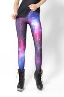 Leggins Women Galaxy Leggings Space Print Pants BLACK Black Milk Leggings Plus FREE SHIPPING M XL LB13081