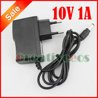 AC 100-240V /DC 10V 1A Switching Converter Adapter Power Supply Charger DC 55mm EU