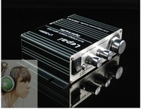 Digital power amplifier LP2020A/ with high bass adjustment / built-in speaker protection function / power amplifier 20w+20w