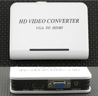 AUDIO VGA TO HDMI HD HDTV VIDEO CONVERTER BOX 1080P SPC-1045