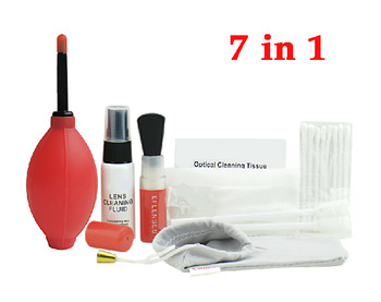 7 in1 Pro Super Optical Cleaning Kit Lens Clean Solution for Canon EOS Camera