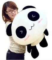 free shipping hot sell lovely Lie prone to lie prone panda plush panda toys birthday gift brinquedos stuffed toysize 55cm