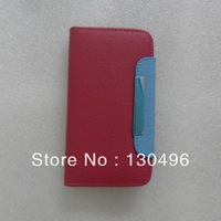 Flying F600 leather case 6 colors ,cover case can put credit card  case Free shipping
