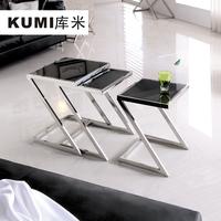 fashion glass coffee table