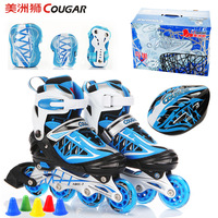 Skatse child full set adjustable roller skates skating shoes skating shoes
