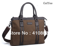 Free shipping / 2013 Brands European and American  bag / casual man bag canvas bag Men's   Messenger Bag / LS022