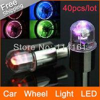 FREE SHIPPING - bike drl wheel light car led wheellight motorcycle vehicle lamp daytime running light - 40pcs/lot