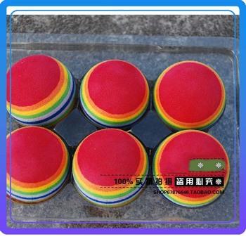 Free Shipping Golf Ball Sponge Beginners Indoor Golf  Rainbow Balls