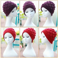 New hot rabbit hair knitted hat old hat lady hat to keep warm winter hat free shipping
