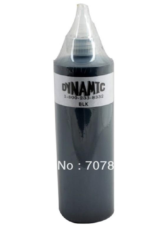 Free shipping Dynamic Tattoo Ink 250ML12oz 330g (Black Color) Tattoo Pigment kit(China (Mainland))