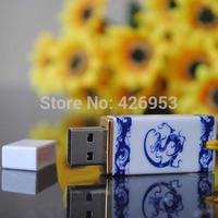 Chinese ceramics series 4G 8G 16G 32GUSB 2.0 flash memory Pen drive Free shipping