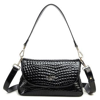 New arrival High quality  Genuine cow leather classical stone shape print  luxury fashion paint coat handbag tote crossbady