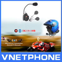 High Qulity FM,MP3, Real Two-way Wireless Communication, Helmet Headset, 100m Bluetooth Motorcycle Helmet Intercom