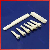 D191 Set Acoustic Guitar Bone Bridge Pins Nut Saddle Part