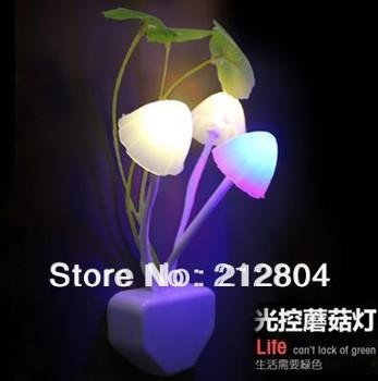 HOT 2pcs/lot Avatar electric induction dream mushroom Fungus Lamp,LED table lamp, mushroom lamp,Energy saving Light Freeshipping