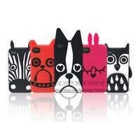 Free shipping(W43.3) For Iphone 5 5g owl cat & dog cover 2013 New Arrival Marc Creatures Case without retail package