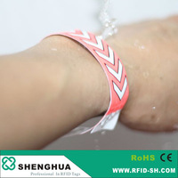 Passive UHF/HF RFID Wristband For Access Control