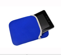 """Universal Blue Black Protective Soft Cloth Pouch Bag Cover Sleeve Case for Google Nexus 7 7"""" Tablet PC MID Amazon Kindle Fire!"""