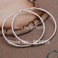 JE044 most popular factory Wholesale 925 sterling silver earrings jewelry, 925 silver new  fashion jewelry, Polished Earrings