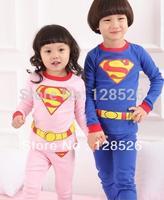 2013 Hot selling 1pcs Christmas Boys Girls Pajama Sets Children Pajama Cotton baby Pijamas kids Free shipping