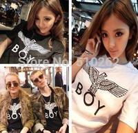 2015 90 after summer boy london loose men's clothing t-shirt fashion men loading