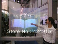 4.5 square meter(3m*1.524m) rear 3D holographic window film , lower price free shipping