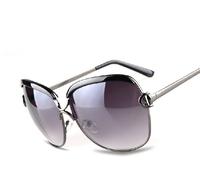Big box sun glasses Women all-match large sunglasses elegant