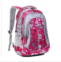 Flower child school bag in primary school students school bag male girls backpack ultra-light waterproof