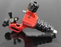 PRO 4.5Watt MotorPlug Prodigy Rotary Tattoo Machine Gun Adjustable Stroke Excenter Airceaft Aluminium Red Tattoo Machine Body