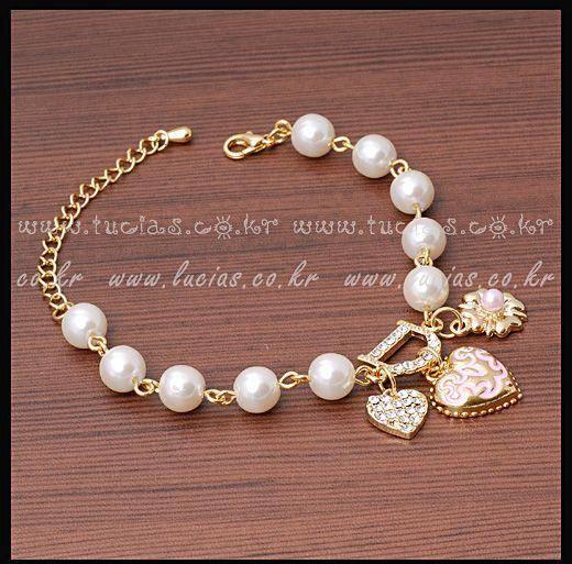 Браслет с брелоками Lucky Clover Jewelry 15$ d TD0377 сумка для канцелярии lucky clover jewelry zakka td1651