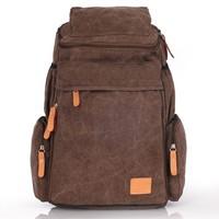 2015 Brand Fashion Korean Style Canvas Travel Unisex Backpack Casual Popular Men Backpacks Women School Rucksacks Free Shipping