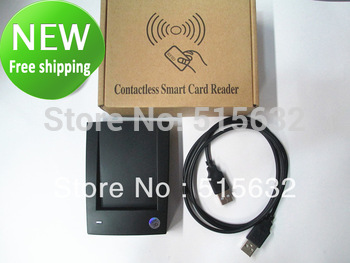 New ID-10 125Khz EM4100 RFID Proximity ID Cards / Smart Card USB Reader