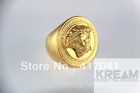Medusa Ring AllGoldEverything Kream