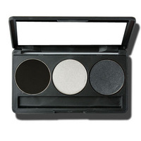 Make-up professional cerro qreen 3 beauty eye shadow black 9