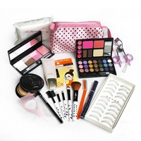 Danni make-up set full set 19 eye shadow combination lip gloss blush cosmetic tools