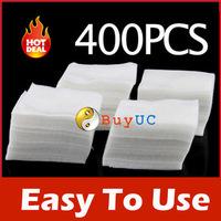 New Arrive: 400Pcs Nail Art Wipes Polish Acrylic Gel Tips Remove free shipping