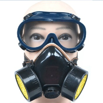 High Quality Safety Dual Cartridge Dust Filter Respirator Particulate Matter Face Mask FREE SHIPPING