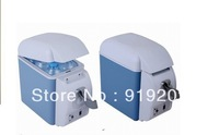 Free shipping Dual small refrigerator car refrigerator 7.5 heating box drug freezer refrigerator