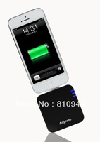 2pcs/lot 1800mAh Mobile batery Charger for iPhone5 (8 pin apple devices), Free shipping