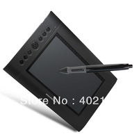 """Huion H610 Black 11"""" USB Art Graphics Drawing Tablet w Wireless Digital Pen for Windows Mac PC Wholesale Free Shipping #160771"""