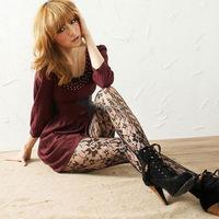 New Arrive: Sexy Women Soft Tights Fashion Rose Lace Pattern Jacquard Pantyhose Stockings wholesale