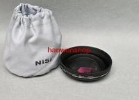 NISI 0.7x 58mm 58 mm PRO Wide Angle LENS for canon 18-55mm 650d 60d 600d 550d 500d black