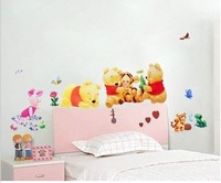 for children room wall sticker, kindergarten  In the Night Garden  wall sticker ,size 34*68CM