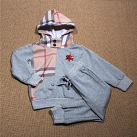 2013 New Autumn Retail Children's Fashion Boys Cotton Casual Sports Suit free Shipping