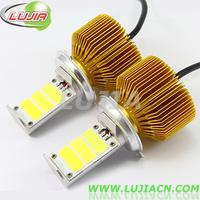 Free shipping 1set/lot H4 car LED headlight 3000lumens super bright car led H4 High low lamp H1,H3,H7,H11,9005,9006