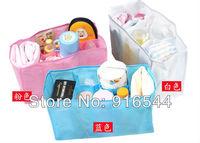 Portable Baby organizer Bag Diaper Nappy Insert Nappy Bottle Clothes Bag 3 Color